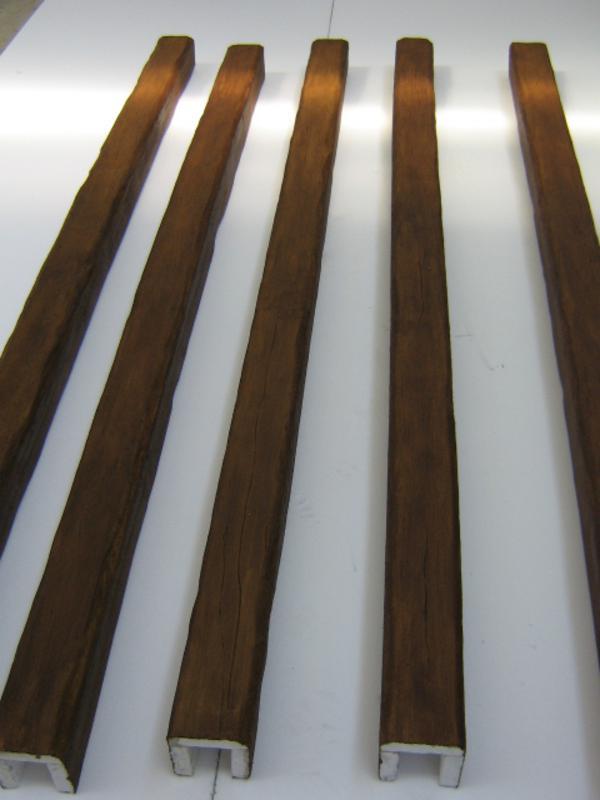 Stranolegno design creazioni in polistirolo sculture for Travi legno leroy merlin
