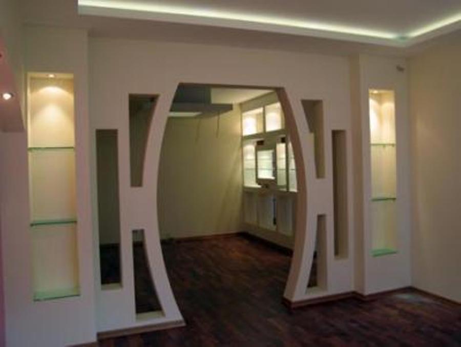 Stranolegno design laboratorio scenografico - Archi in gesso per interni ...