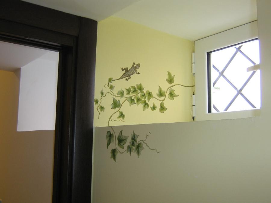 Decorazioni su muri esterni boiserie in ceramica per bagno - Decorazioni per muri di casa ...